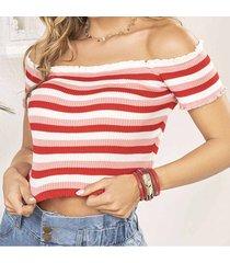blusa cris rojo para mujer croydon
