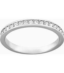 anello rare, bianco, placcatura rodio