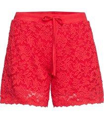 shorts shorts flowy shorts/casual shorts röd rosemunde