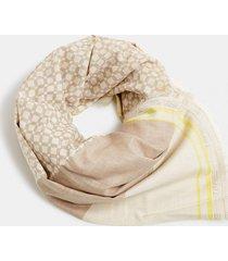 pañuelo algodón ecológico beige esprit