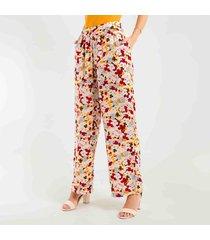 pantalon para mujer color multicolor