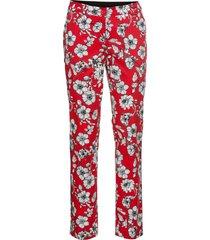pantaloni elasticizzati fantasia (rosso) - bodyflirt