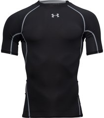 ua hg armour ss t-shirts short-sleeved svart under armour
