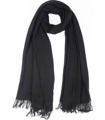 bufanda negra donadonna