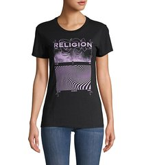sound wave graphic t-shirt