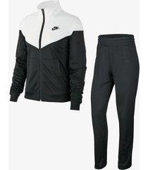 sudadera nike sportswear para mujer-negro-negro-negro