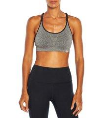 marika women's juliette sports bra - white - size s