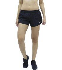 pantaloneta negro nike run 10k short