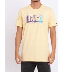 camiseta rvca written masculina