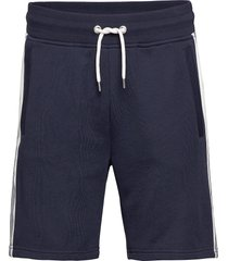d1. gant stripe sweat shorts shorts casual blauw gant