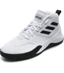 tenis basketball blanco-negro adidas performance ownthegame