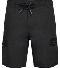 utl cargo short shorts casual svart superdry