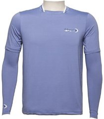 camiseta ml dryfit gola filete fishing co. azul marlin ufp 50+ ref. 1027