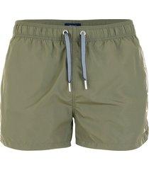 logo swim shorts