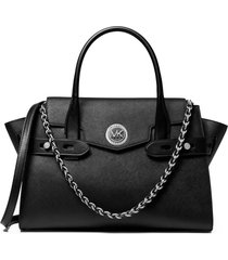 michael kors carmen large black handbag