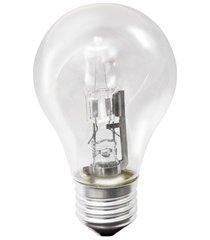 lâmpada halógena classic a55 70w 110v 3000k luz amarela