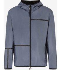men's linear logo windbreaker jacket