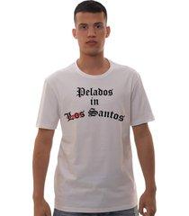 camiseta mamonas assassinas los santos branca - kanui