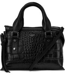 t tahari rachel leather top handle satchel