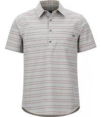 camisa euclid ss gris marmot