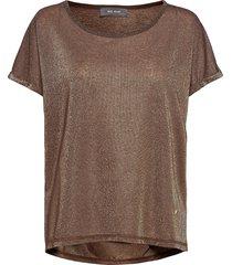 kay tee t-shirts & tops short-sleeved brun mos mosh