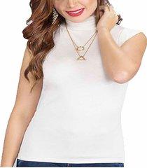 blusa gold marfil  para mujer croydon