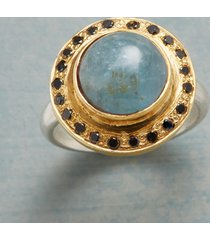 aquamarine observatory ring