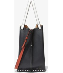 proenza schouler bellows tote bag black one size