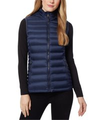 32 degrees packable hooded down puffer vest, created for macy's