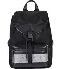 givenchy givenchy logo-print packpack