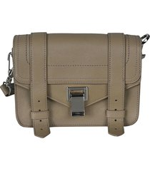 proenza schouler belt applique front flap shoulder bag