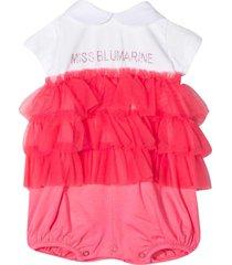 miss blumarine print jumpsuit