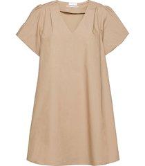 2nd alice thinktwice kort klänning beige 2ndday