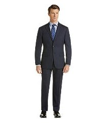 1905 collection slim fit herringbone men's suit with brrr°® comfort by jos. a. bank