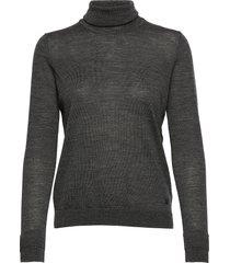 nora rollneck pullover turtleneck coltrui grijs inwear
