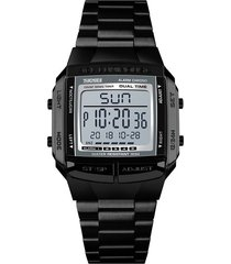 reloj deportivo multifuncional impermeable para hombres.