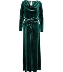 jumpsuit maxiklänning festklänning grön ilse jacobsen