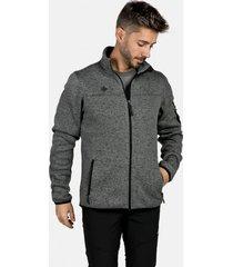 chaqueta de punto samaun m gris izas outdoor