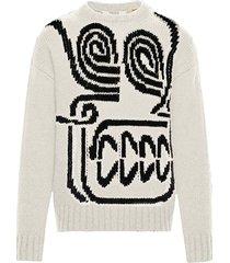 2 moncler 1952 rostarr skull knit sweater