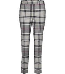 barbour isla trouser byxa med raka ben grå barbour