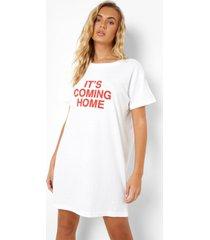 it's coming home t-shirtjurk, white