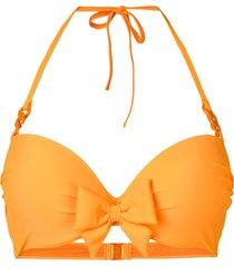 marlies dekkers papillon push-up bikini top - orange