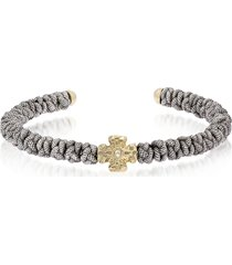 be unique designer men's bracelets, bicolor reptile bracelet