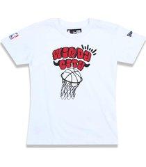 t-shirt new era regular chicago bulls branco - tricae