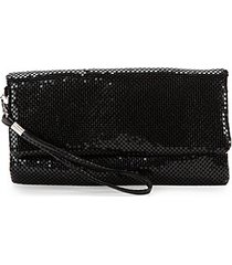 sequin foldover clutch