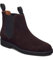 chelsea suede polaris shoes chelsea boots brun sebago