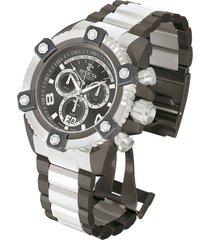 reloj invicta 13013 acero, gunmetal hombres