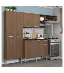 cozinha completa compacta com armário e balcáo com tampo lisboa multimóveis carvalho avelá