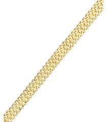 10k gold bracelet, mesh link bracelet
