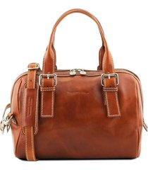 tuscany leather tl141714 eveline - bauletto in pelle miele
